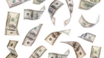 Курс доллара упал ниже 55 ру…
