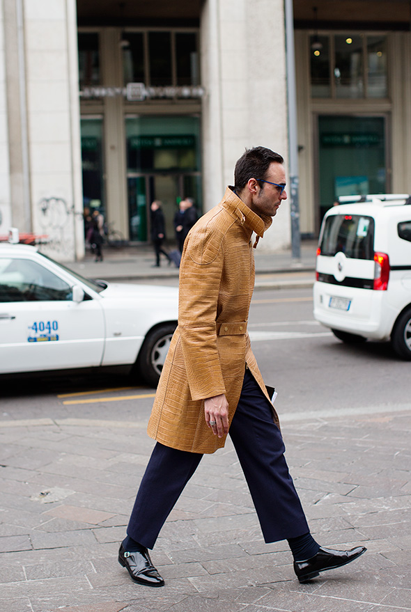 On the Street…San Babila, Milan