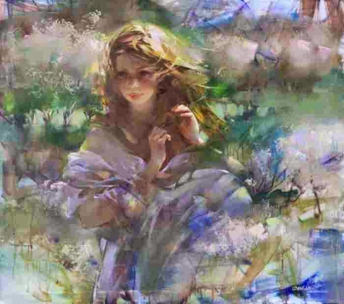 Женщина-цветок. Инна Цукахина