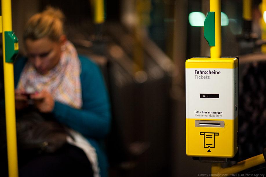 Berlin 4 Общественный транспорт Берлина