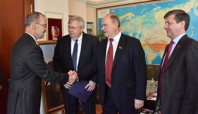 Госдеп на Зюганова делал ставку еще на выборах в 2012 году