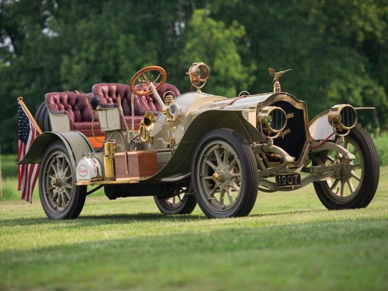9. 4-60 Four-Passenger Runabou - 1907 года Hershey Motor Lodge, аукцион, олдтаймер, продажа авто