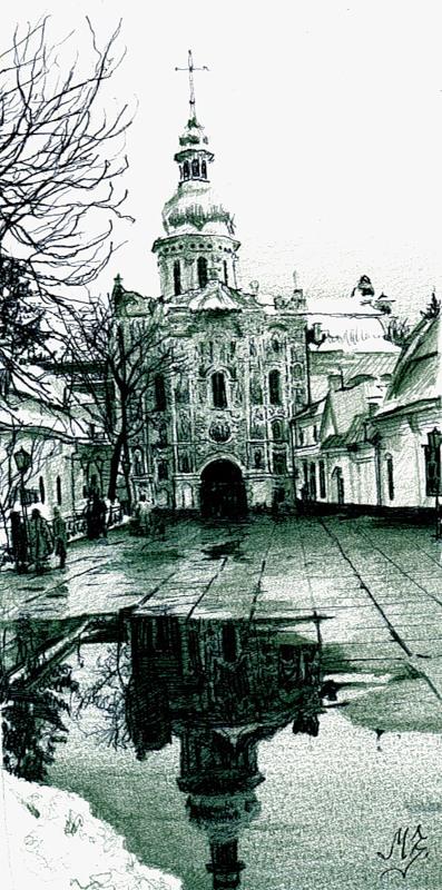 рисунки карандашом Maria Zeldis -2-14