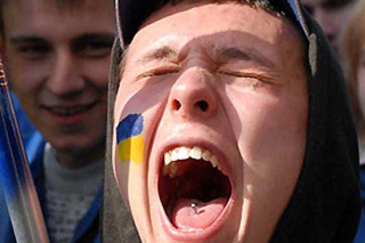 На Украине выросло поколение…