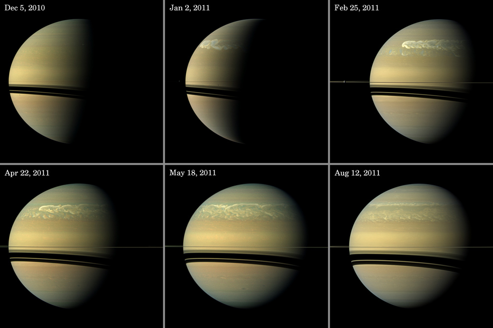 190 Система Сатурна