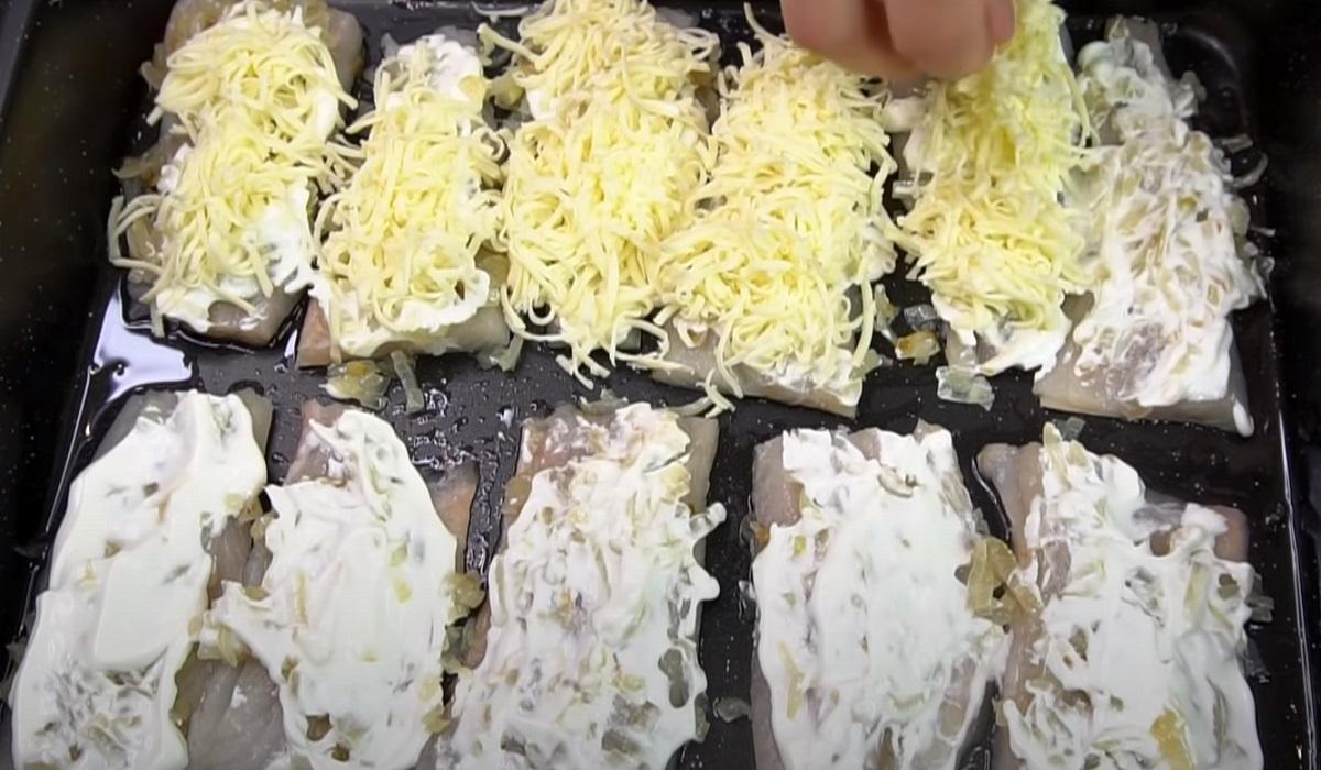 рыба под шубой в духовке