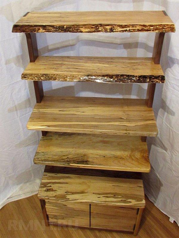 Мебель своими руками: деревянная этажерка в рустикальном стиле
