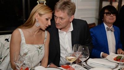 Навка назвала дату свадьбы с «отцом младшей дочери» Песковым