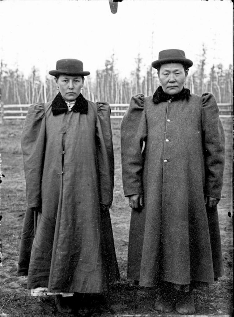 Народности крайнего Севера в России в 1900 году