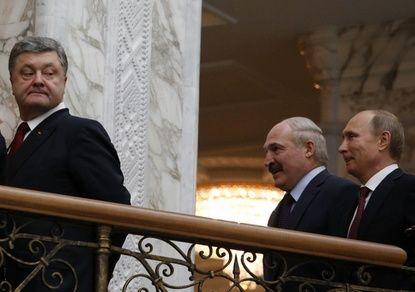 """Порошенко обвинил Путина в """"…"""
