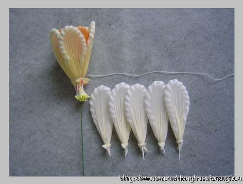Капроновые колготки цветы своими руками