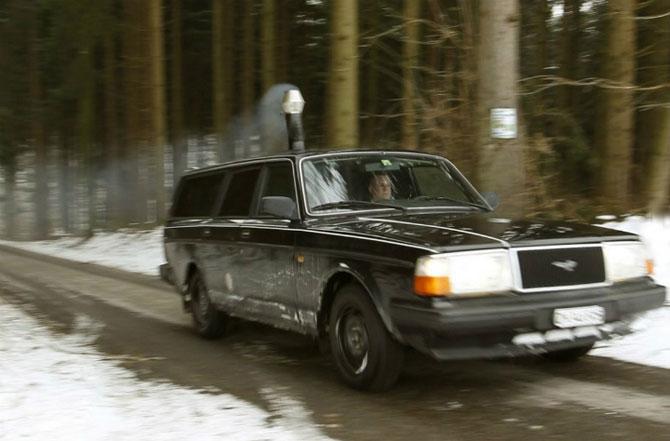 Автомобиль, который работает на дровах