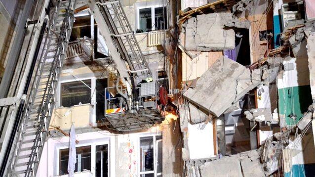 Обрушение дома в Магнитогорс…