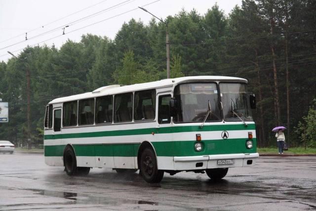 ЛАЗ-699: самый быстрый серий…