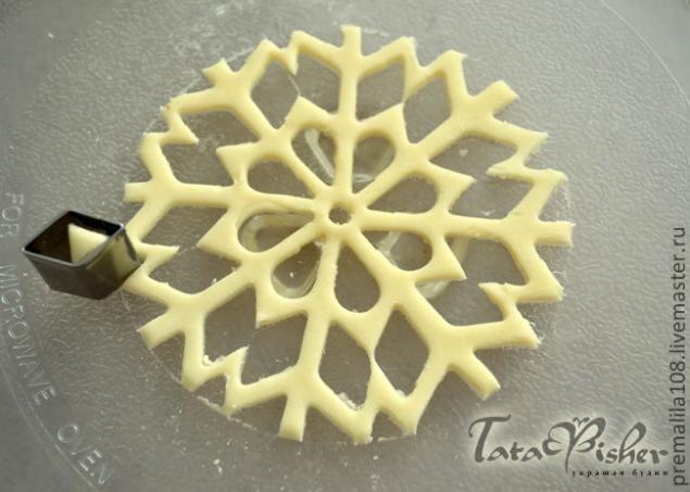 Солёные снежинки. Мастер-класс