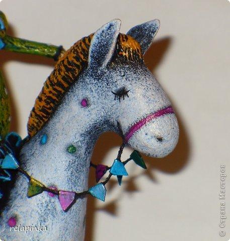 Мастер-класс Поделка изделие 23 февраля Папье-маше Принц на лошадке мастер-класс Бумага фото 49
