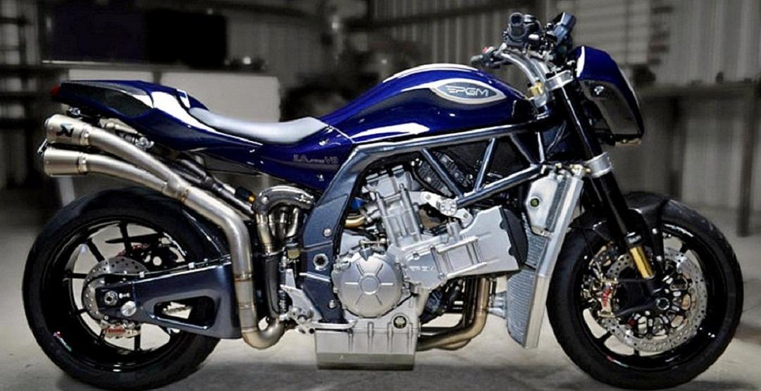 Фото мотоцикл, PGMV8, V8