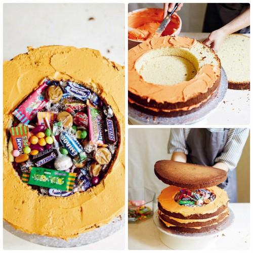 Торт с ммдемс внутри рецепт