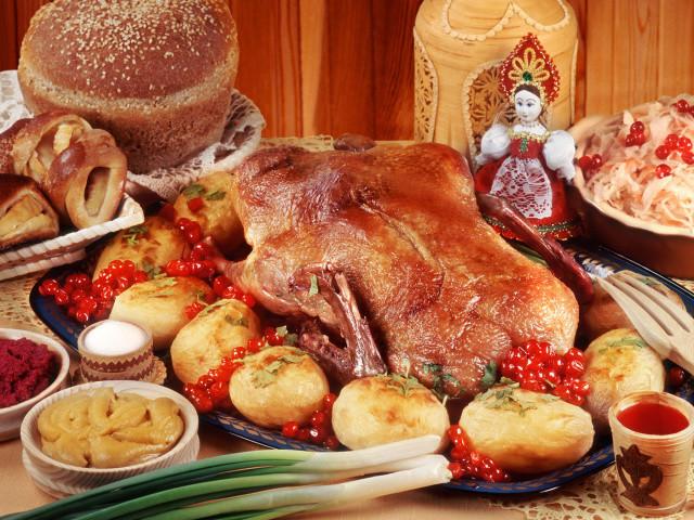 Национальные блюда старой русской кухни