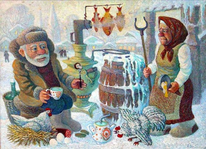 художник Валерий Сыров картины - 07