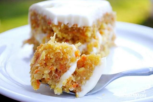 Морковный торт пп рецепт с фото