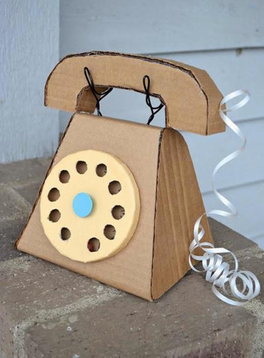 Телефон как сделать игрушку
