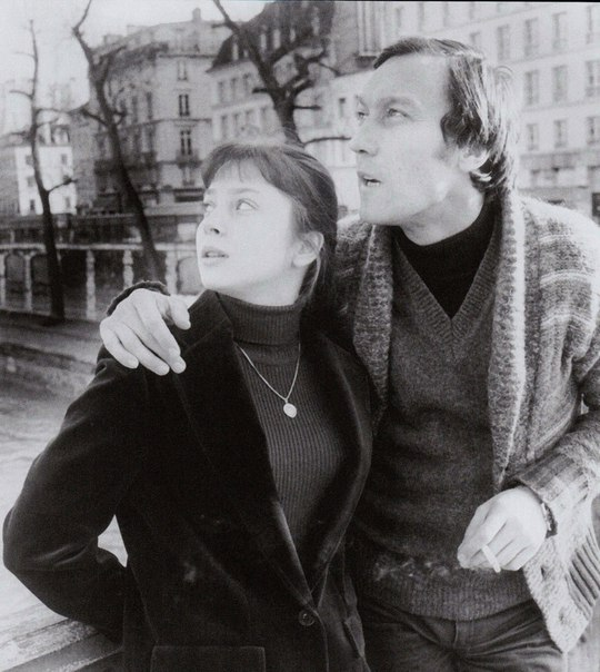 Олег Янковский и Галина Беляева.