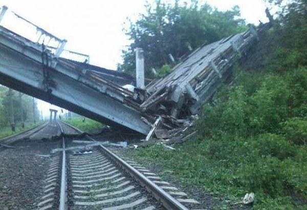 ВЛНР ищут диверсантов, подорвавших автомобильный мост