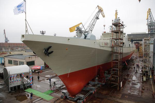 ВМФ России получил корабль для слежения за ПРО