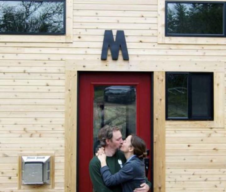 Эта пара построила крошечный дом своей мечты и доказала, как мало нужно для счастья! дом, мечта