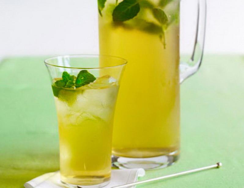 Холодный зелёный чай в домашних условиях