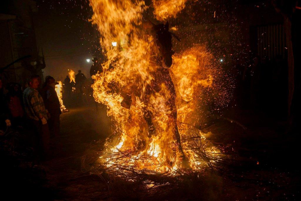 Luminarias - испанский фестиваль огня и животных-9