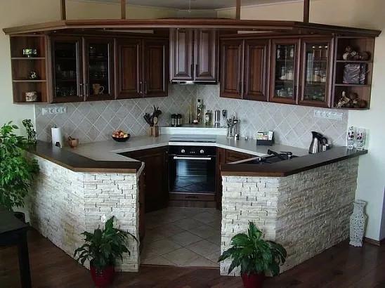 Как вам такой кухонный уголок?