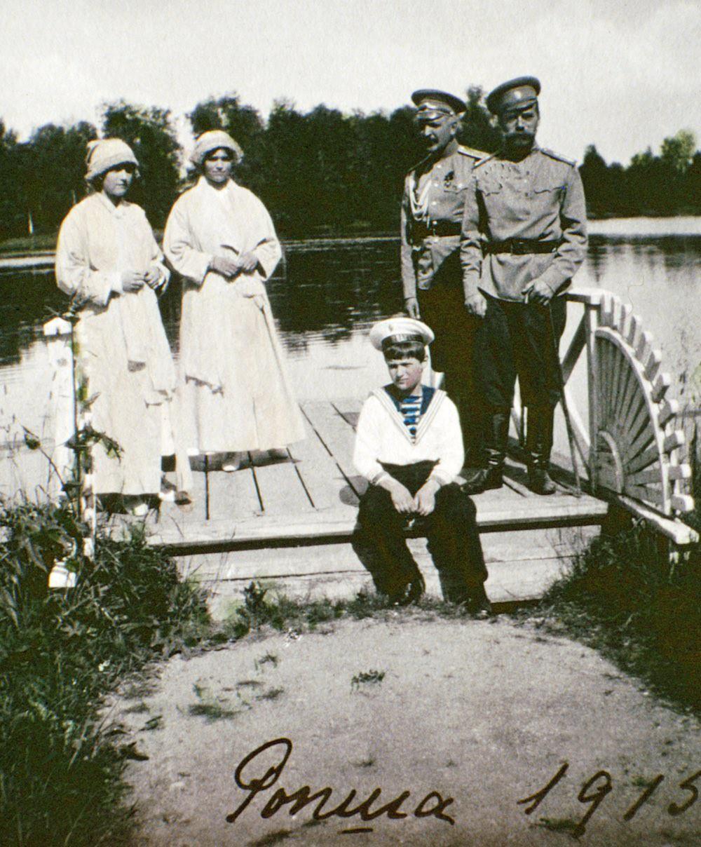 Семейные фотографии царской семьи Романовых