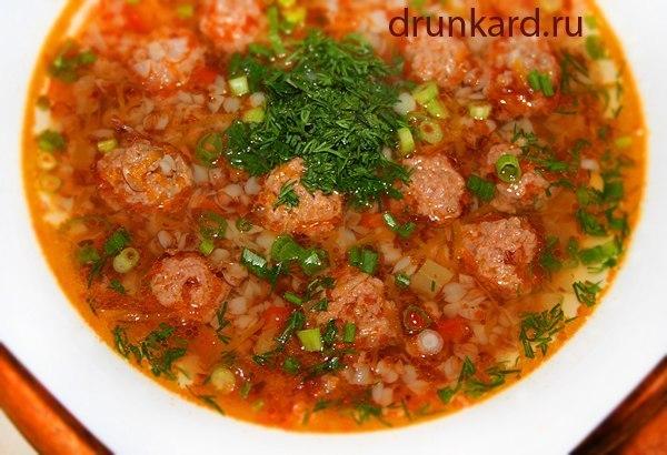 Диетический говяжий суп