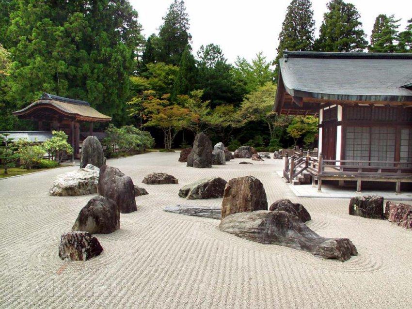 Японский сад камней. Устройство, философия и особенности стиля