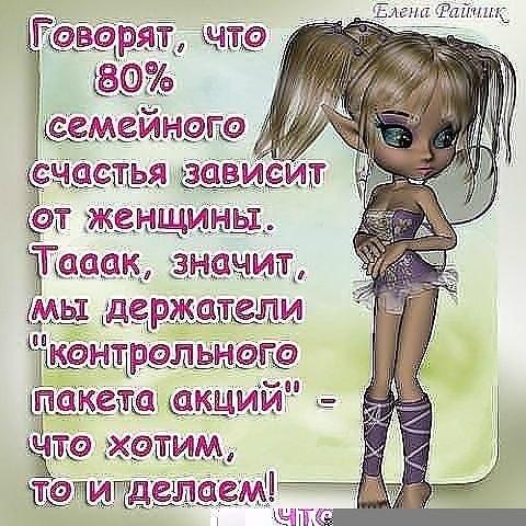 Немного юмора про нас, про <b>женщин</b>)))