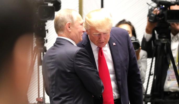 Перед встречей Путина и Трам…