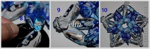 Мастер-класс Свит-дизайн Упаковка Новый год Разные сладкие работы Бумага Материал оберточный Проволока Продукты пищевые фото 36