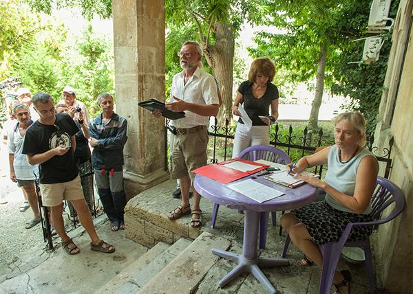 заседание профсоюзной организации Херсонесского заповедника|Фото: chersonesos-sev.ru