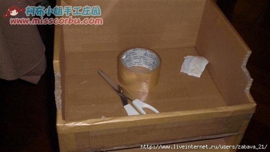 Как сделать тумбочку своими руками из картона
