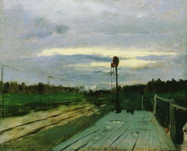 И.Левитан (1860-1900). Картины раннего творчества.