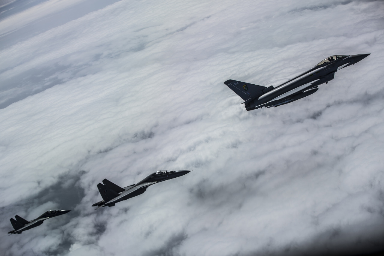 СМИ: «Фланкеры» оказались маневреннее «Тайфунов»