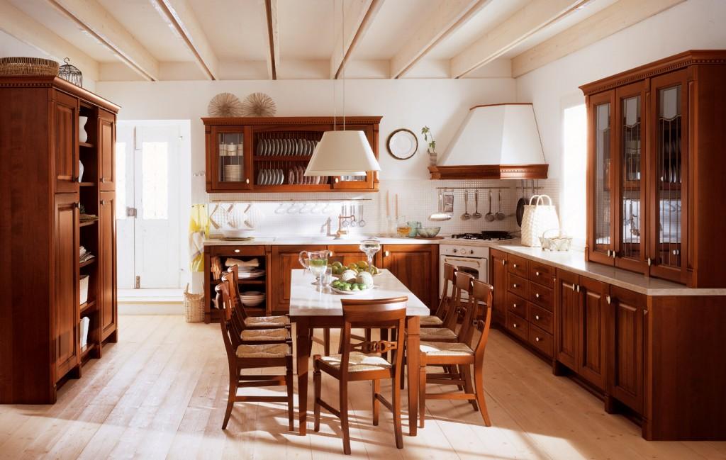 ClassicKitchen 7 1024x649 Дизайн фасадов кухонных шкафов 60 фото