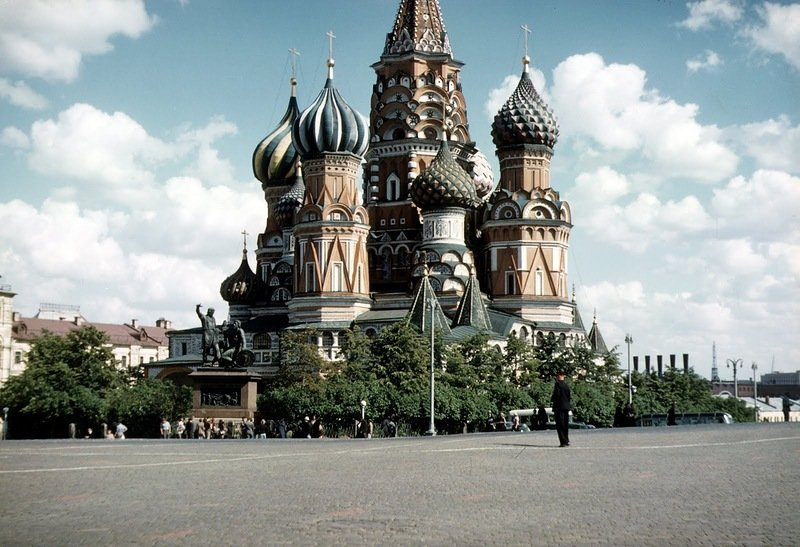 Фоторепортаж из СССР полувековой давности. Советская жизнь в объективе Джона Шульца