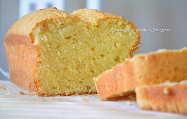 Творожный кекс (быстро, просто и ооочень вкусно : )