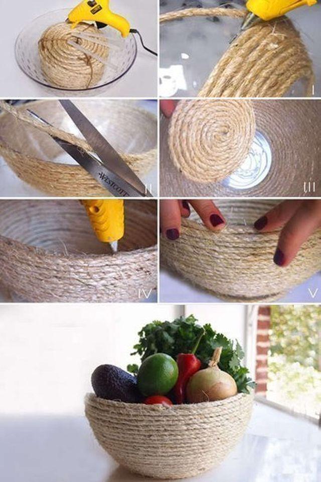 Идеи декора своими руками из подручных материалов фото