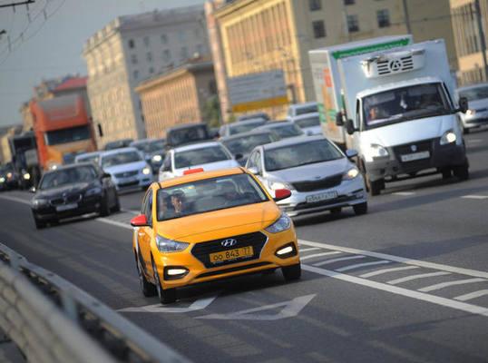 С начала года в Москве арестовали более 190 автомобилей нелегального такси