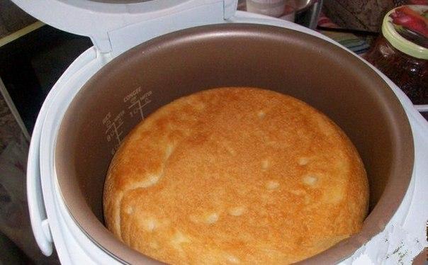 Белый хлеб в мультиварке.