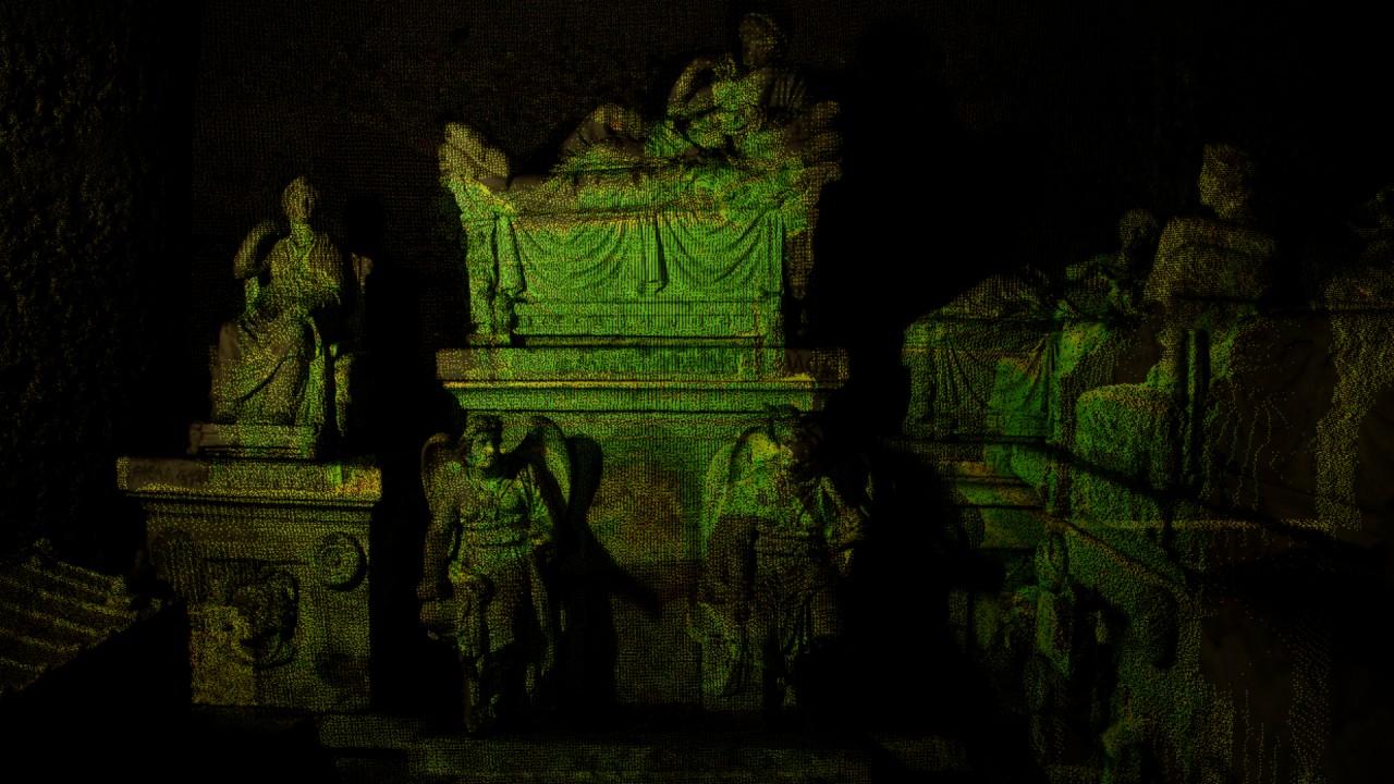 Этрусский мир  Археологи обнаружили нетронутую гробницу в Поджо Ренцо